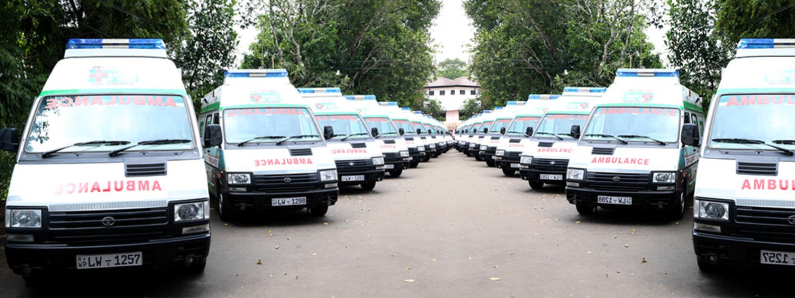 Ambulances outside of WP to be called-in for COVID services
