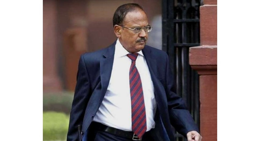 Indian National Security Adviser Ajit Doval in SL for Trilateral Meeting