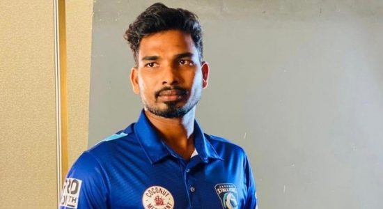 'Gammadda Vijey'- the miracle slinger playing for Jaffna Stallions