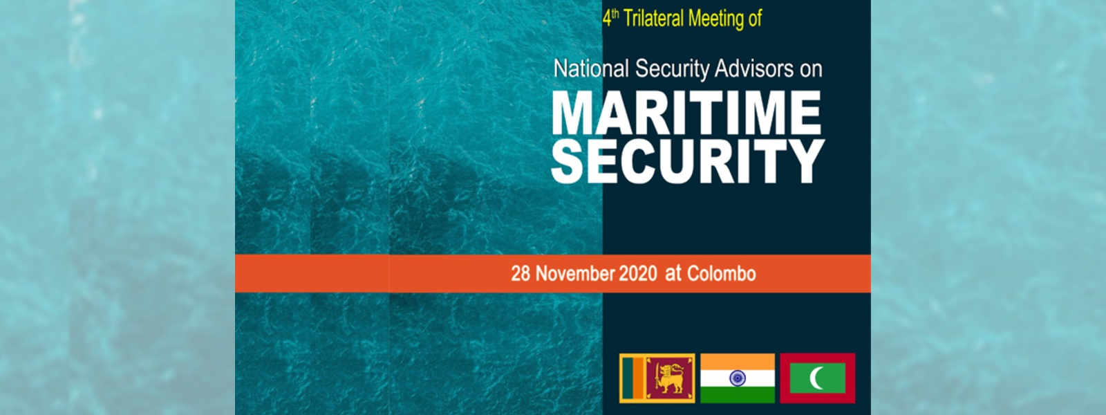 Sri Lanka to host 4th NSA Level Trilateral Meeting on Maritime Security Cooperation