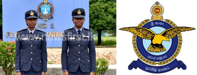 02 Female Officers commissioned as Pilots for the 01st time in SLAF history