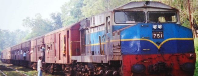 Passenger trains suspended for the weekend