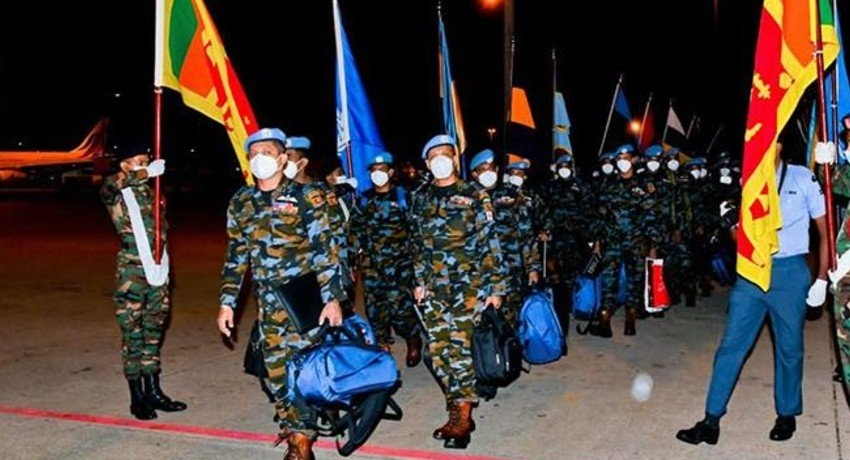 7th Army Contingent & 5th contingent of Air Force Off to South Sudan
