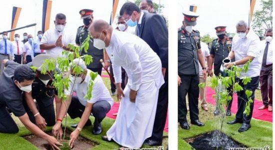President launches 'Husma Dena Thuru' afforestation project