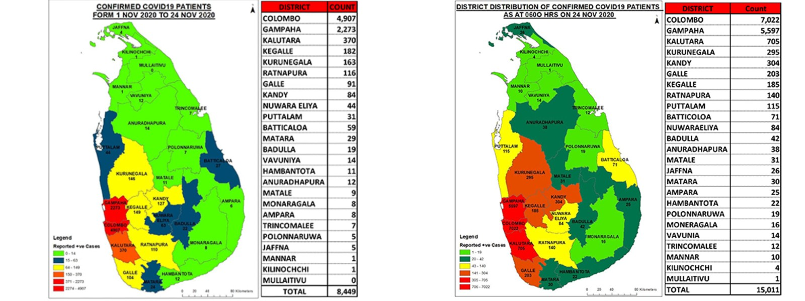 4,490 people in 45 tri service-managed QCs undergoing quarantine