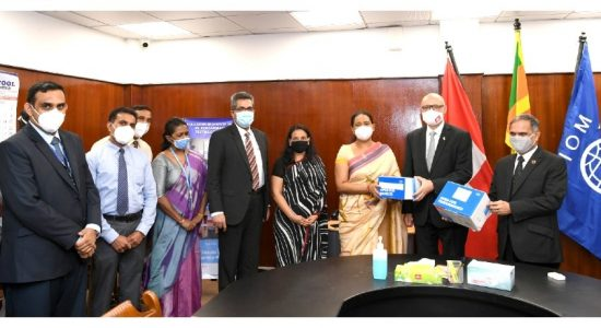 IOM Sri Lanka & Switzerland assist COVID-19 repatriation