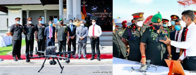 15th Drone Regiment of Sri Lanka Artillery Inaugurated (VIDEO)