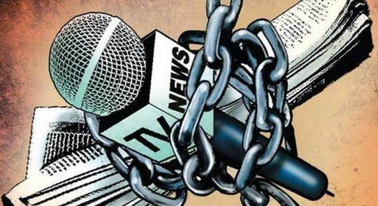 Concerns regarding media suppression raised in parliament