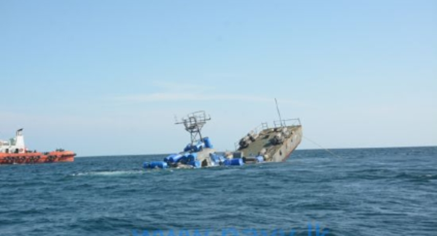 Two decommissioned Navy ships scuttled to form artificial reef (VIDEO)