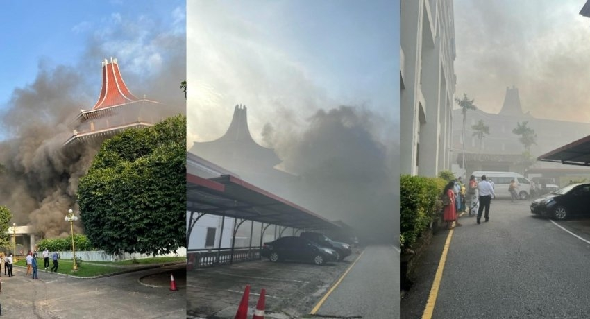 Report on fire at Supreme Court complex to be submitted next week