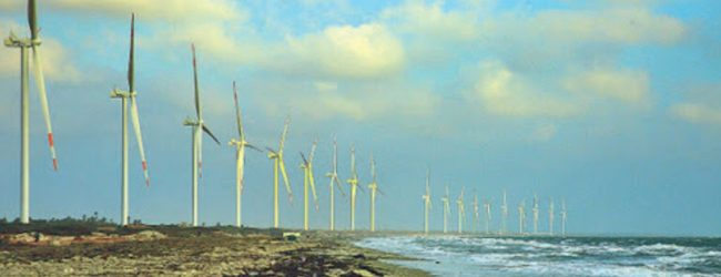 Sri Lanka's largest Wind Power Farm 'Thambapavani' added to the National Grid