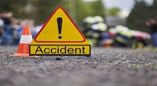 EIGHT ARRESTED FOR ROAD ACCIDENT THAT LEFT TWO DEAD