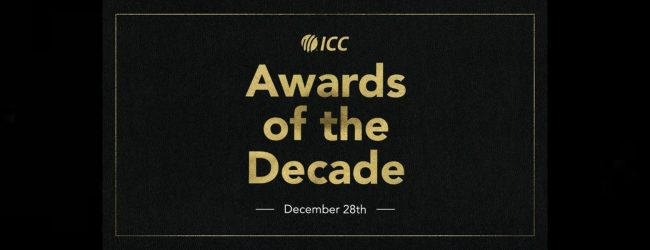 The ICC Awards of the Decade winners announced