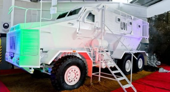 Sri Lanka Army's innovative new workshop