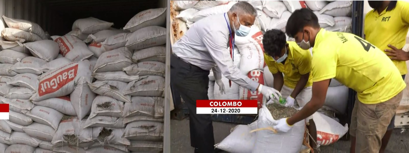 Government to lodge a complaint with the Basel Convention Office over 'agricultural waste' imported to Sri Lanka