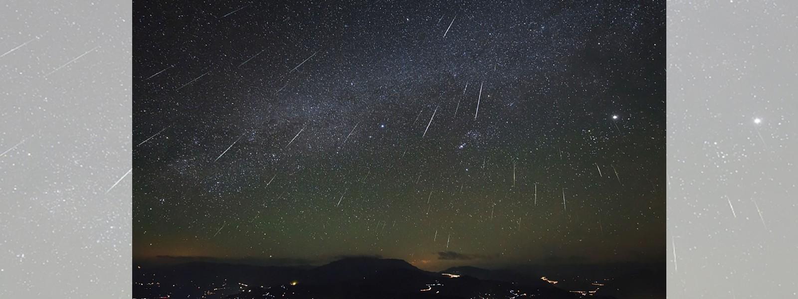 Geminid meteor shower visible to Sri Lanka sky tonight