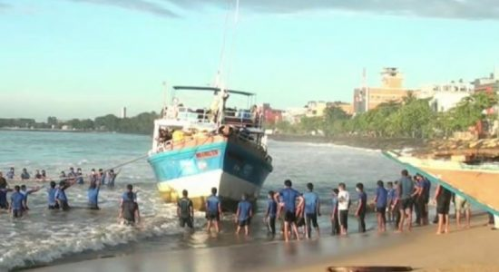 NAVY SEIZES DRUGS WORTH RS. 60MN IN SEAS OFF GALLE