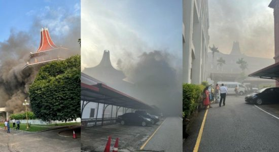 FIRE AT SUPREME COURT COMPLEX DOUSED