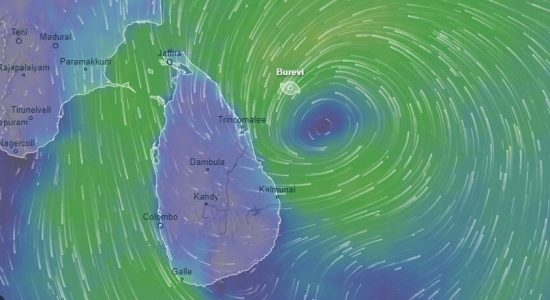 Cyclone Burevi : Thundershowers & Gale Winds for many areas