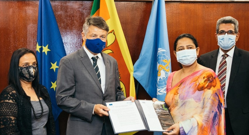 WHO and EU pledge EUR 2 Million for COVID-19 in SL