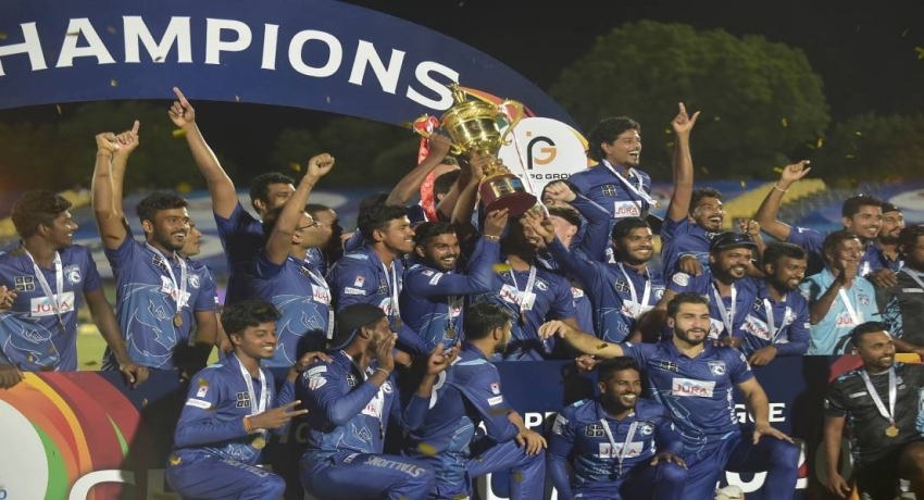 Jaffna Stallions emerge champions of LPL 2020