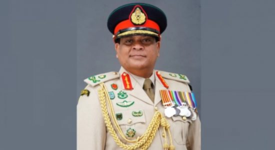 ARMY COMMANDER PROMOTED TO RANK OF 04 STAR GENERAL