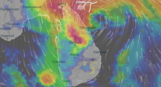 Cyclone Burevi makes landfall in Sri Lanka's East Coast
