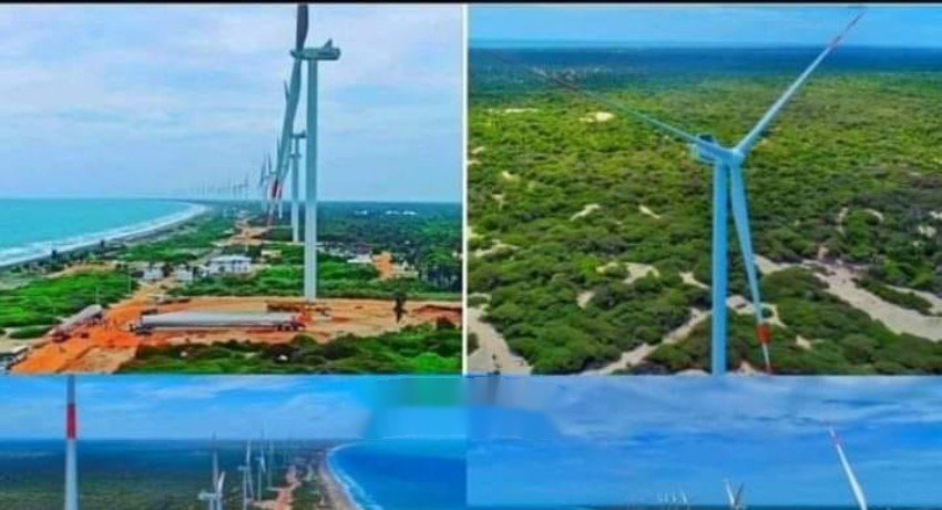 Sri Lanka's largest Wind Power Farm 'Thambapavani' added to the National Grid