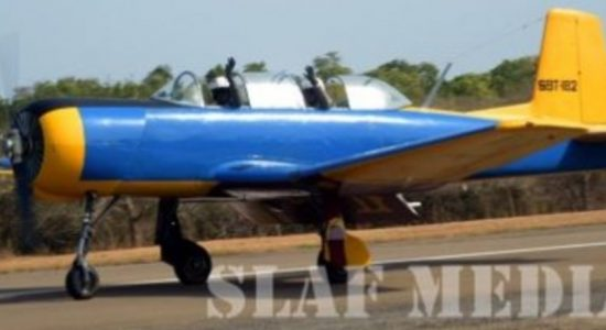 Ground Control lost contact of SLAF PT-6: SLAF Spokesperson