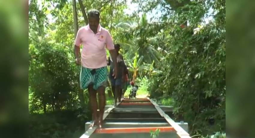 Absence of bridge threatens farmers' lives