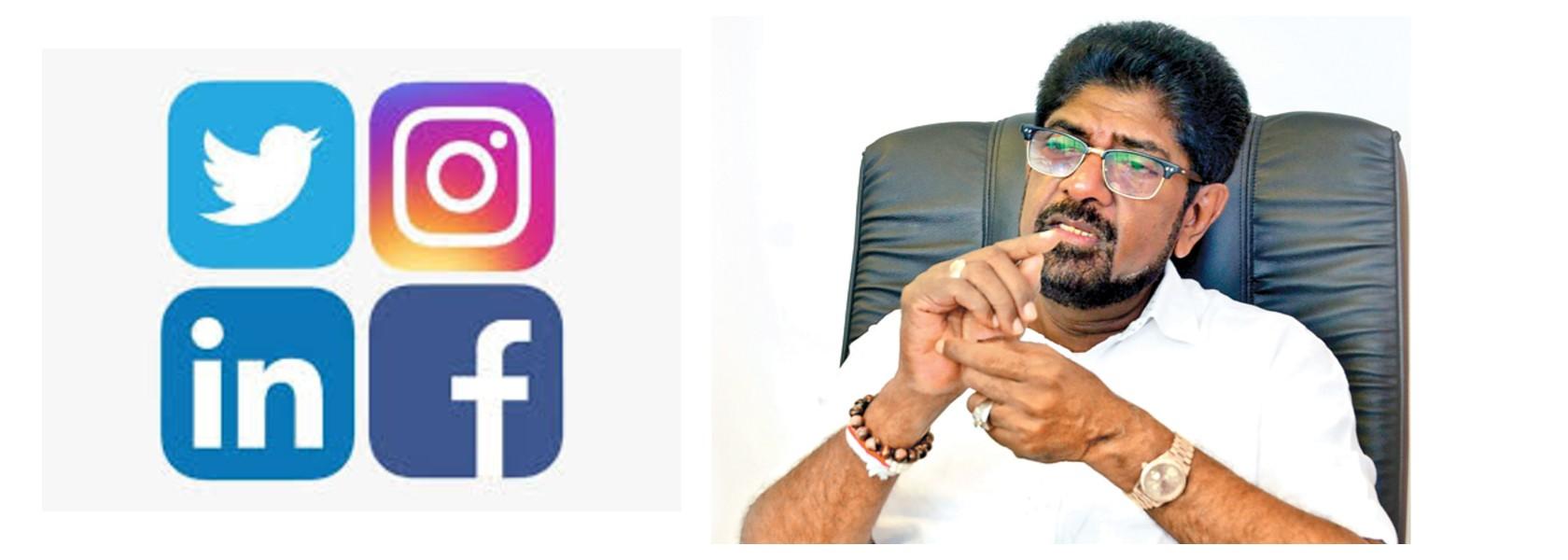 Rambukwella does a U-turn on registering social media users