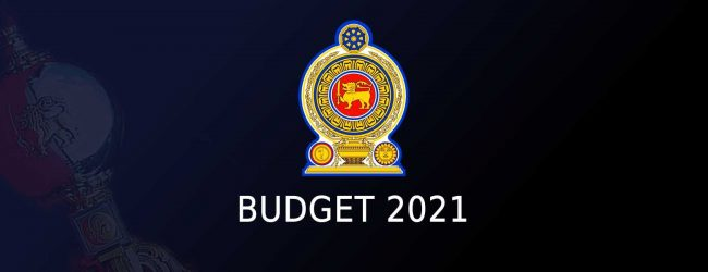 Budget 2021 passed with a 2/3rds majority in Parliament