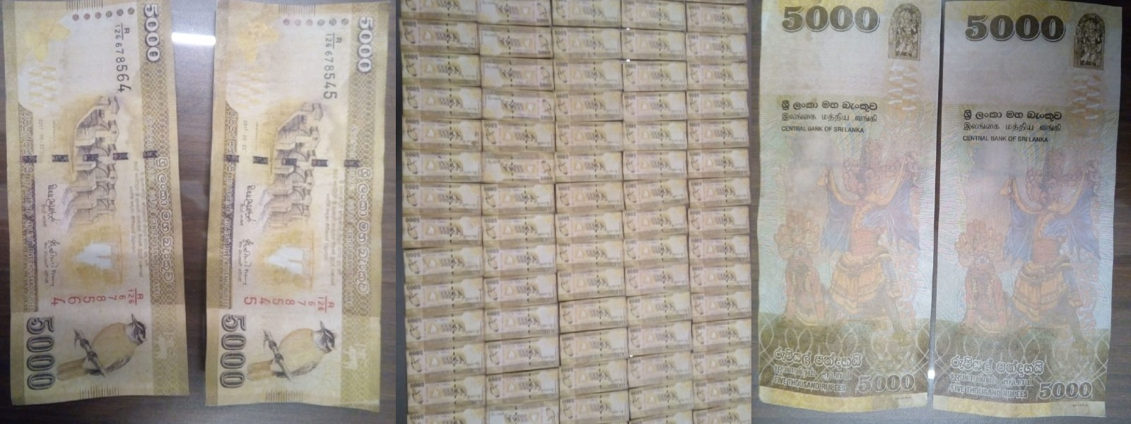 COUNTERFEIT CURRENCY RING BUSTED: POLICE