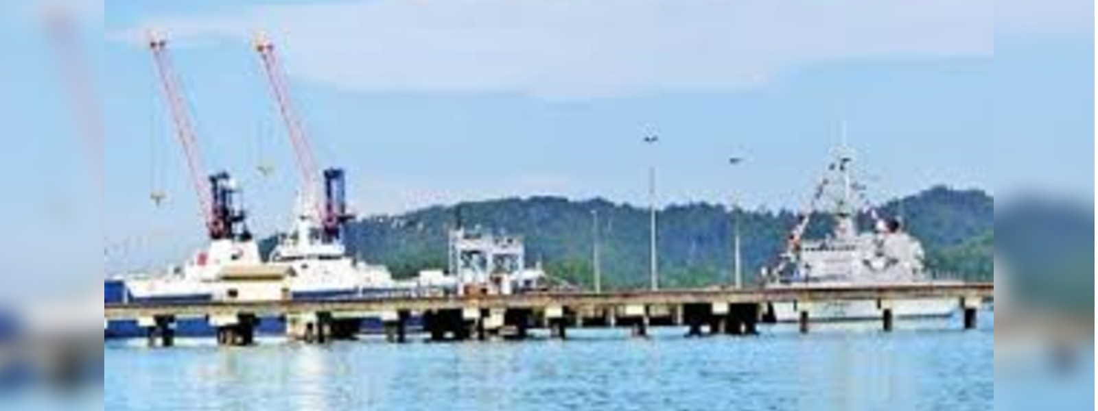 India takes up the responsibility of developing the Kankasanthurei Harbour