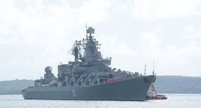 Three ships of Russian Federation arrive at port of Trincomalee