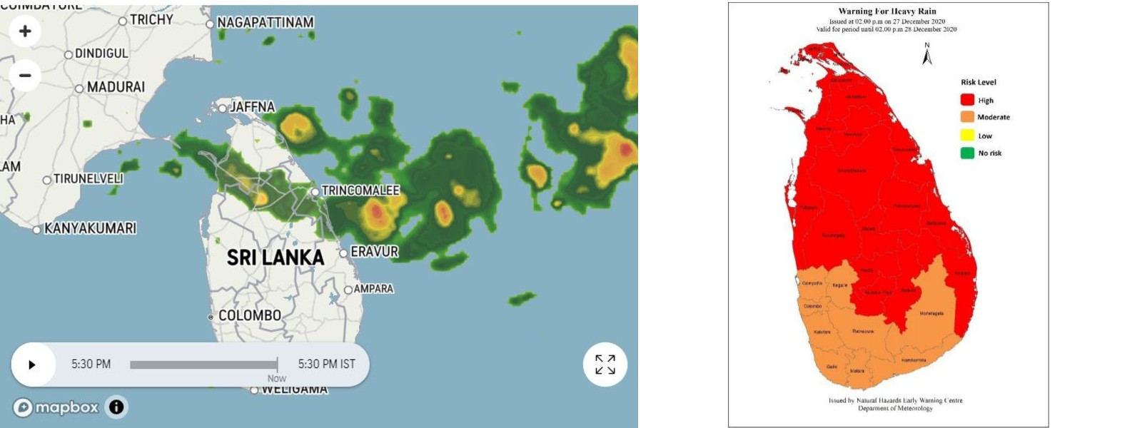 HEAVY RAIN WARNING ISSUED