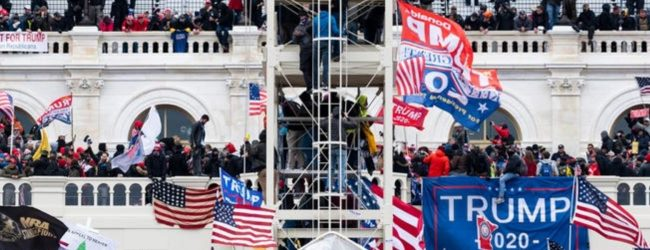 FOUR PEOPLE DEAD AT US CAPITOL PROTESTS