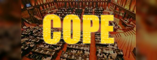 COPE TO SUMMON 05 GOVT. BODIES IN JANUARY