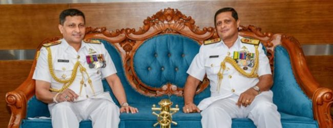 Rear Admiral Sumith Weerasinghe new Navy Chief of Staff