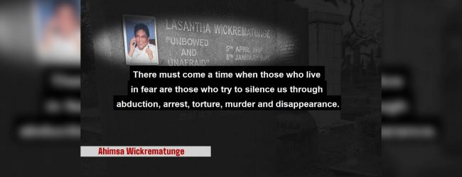 Murdered and disappeared journalists' remembered