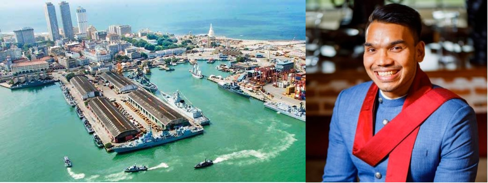 The port cannot be listed at CSE; Min. Namal