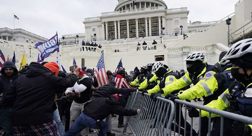One dead after pro-Trump mob storms US Capitol