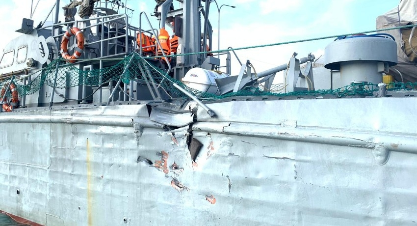 India lodges protest over mid-sea collision involving SLN