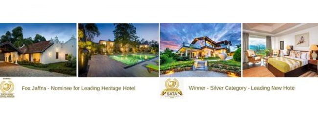 FOX KANDY BY FOX RESORTS WINS SILVER AT SATA 2020