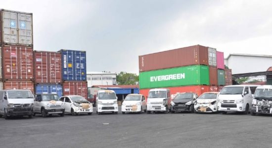 CUSTOMS SEIZES ILLEGAL VEHICLE IMPORTS