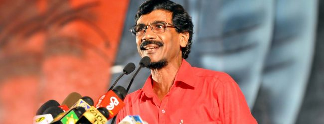 (VIDEO) People in power using might to free themselves; alleges JVP