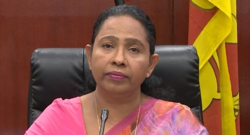 Pavithra Wanniarachchi COVID positive, Health Ministry confirms