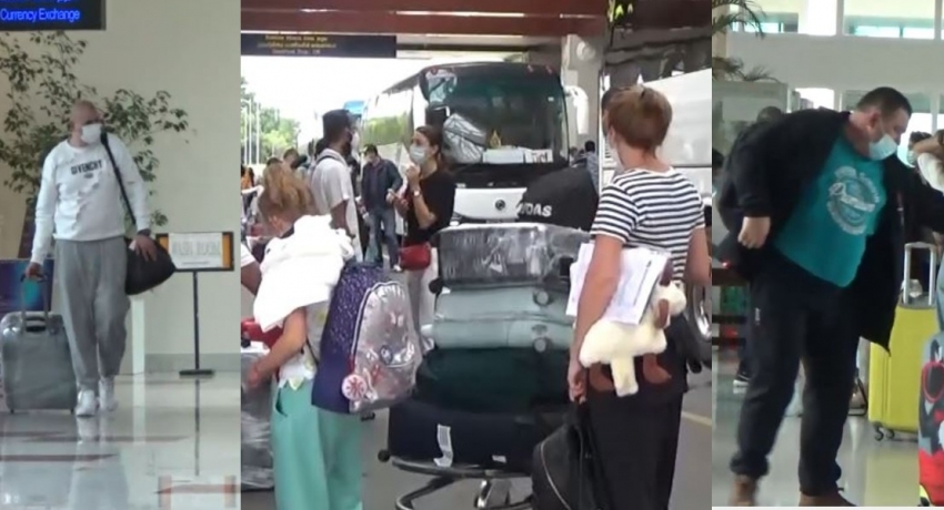 165 UKRAINIAN TOURISTS ARRIVE IN SRI LANKA