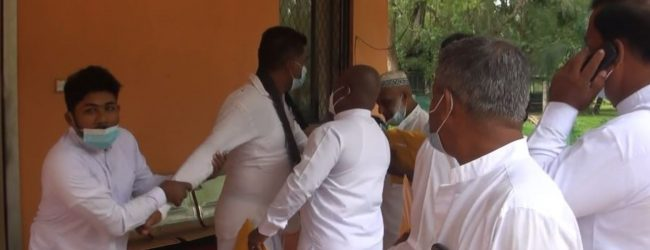 2021 INAUGURAL SESSION OF MIHINTHALE PS ENDS IN MELEE