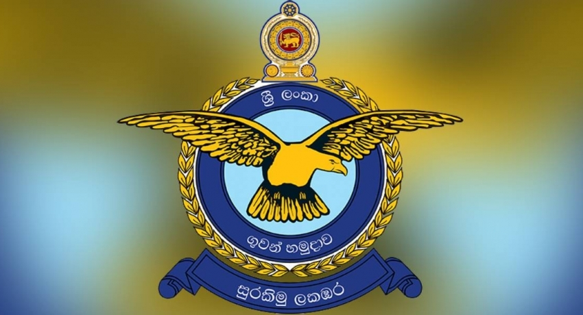 Sri Lanka Air Force makes request from public in Colombo